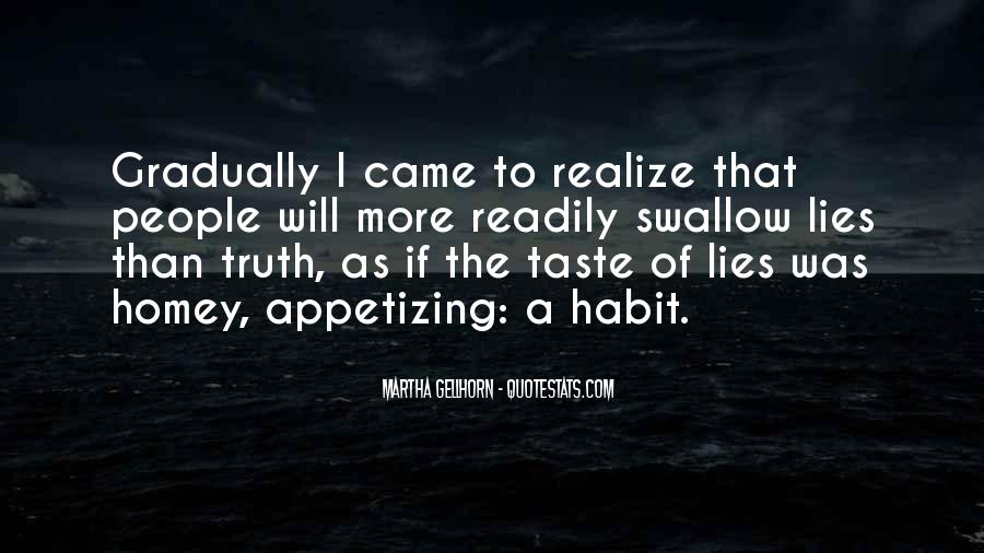 Swallow The Truth Quotes #1878863