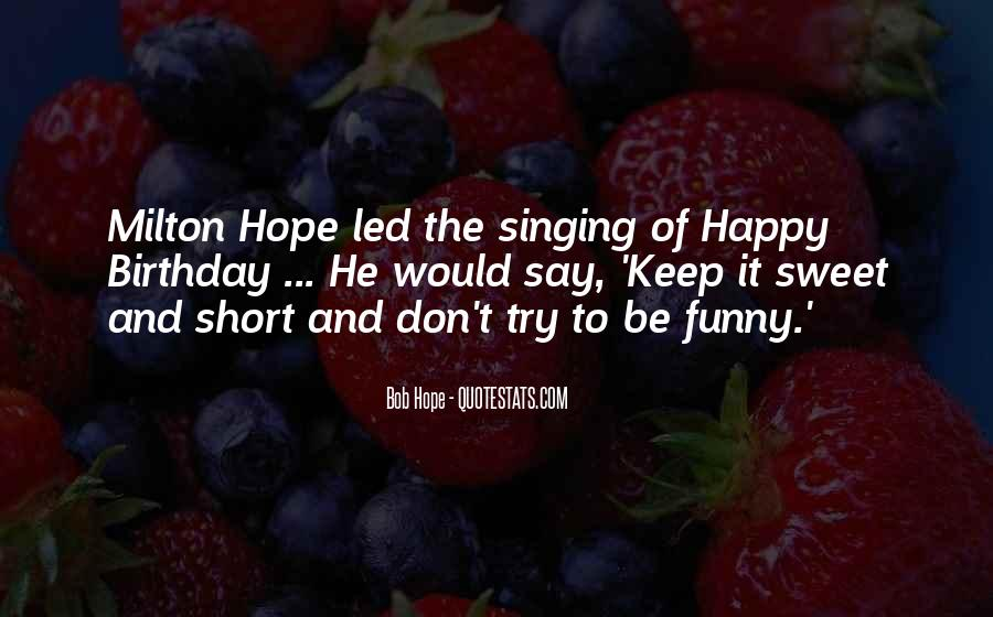 Sweet And Funny Quotes #729274