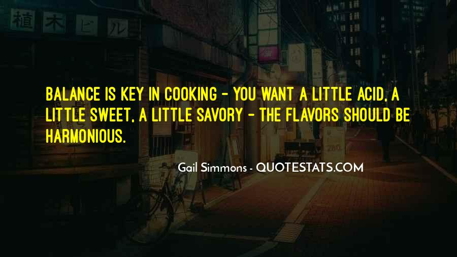 Sweet And Savory Quotes #1082898