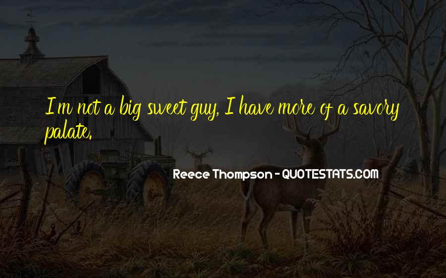 Sweet And Savory Quotes #168534