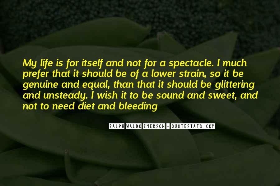 Sweet Genuine Quotes #1196900