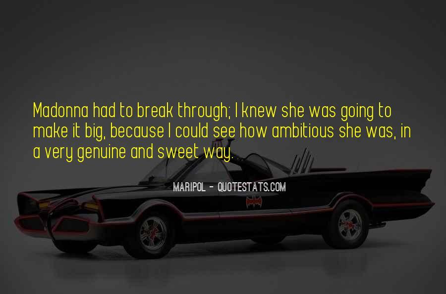 Sweet Genuine Quotes #1393598