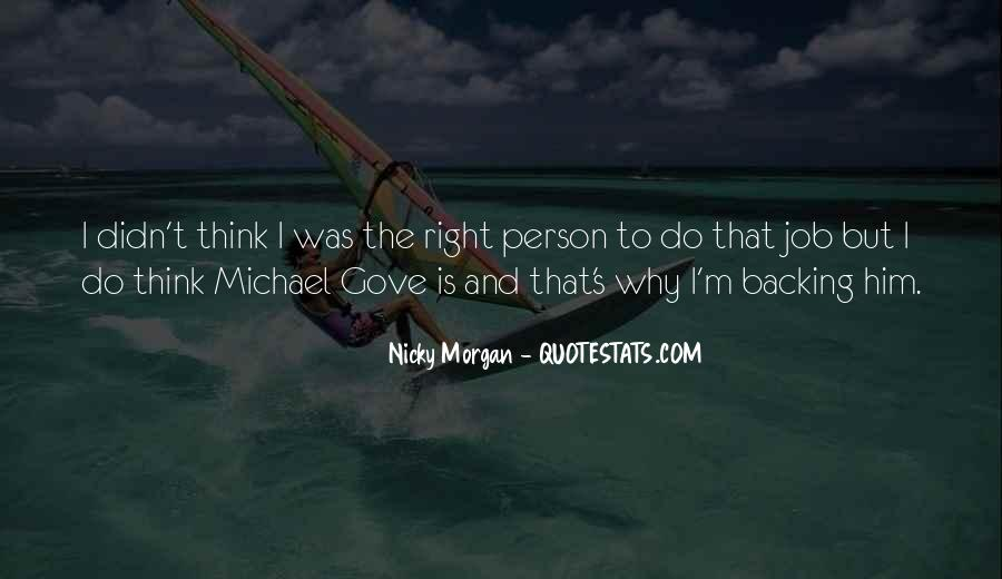 Quotes About Michael Gove #161005