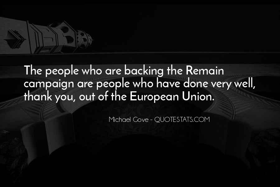 Quotes About Michael Gove #16113