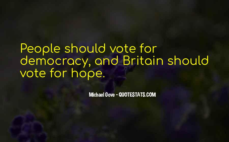 Quotes About Michael Gove #202072