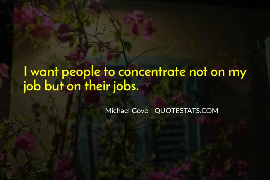 Quotes About Michael Gove #265110