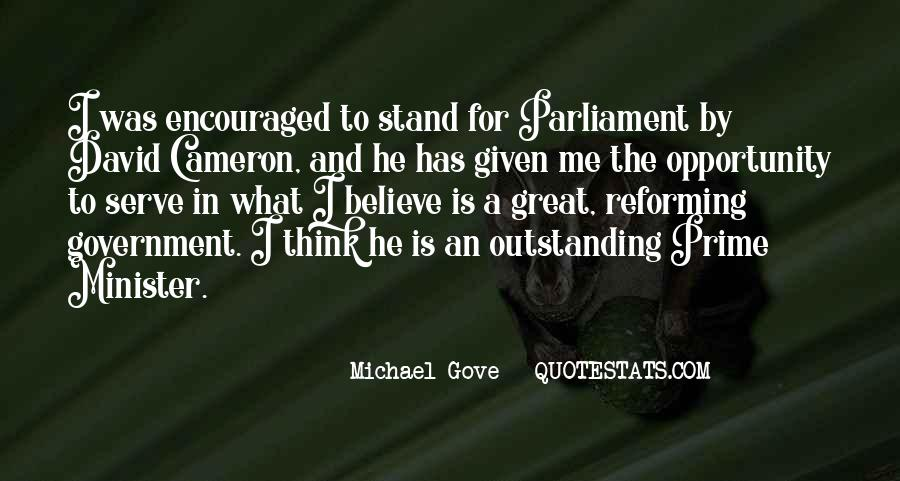 Quotes About Michael Gove #271911