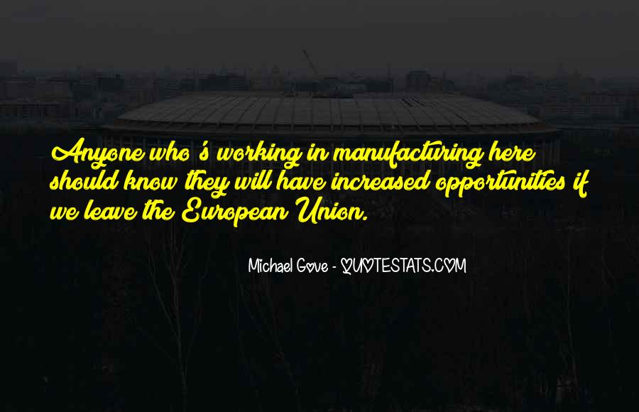 Quotes About Michael Gove #363966