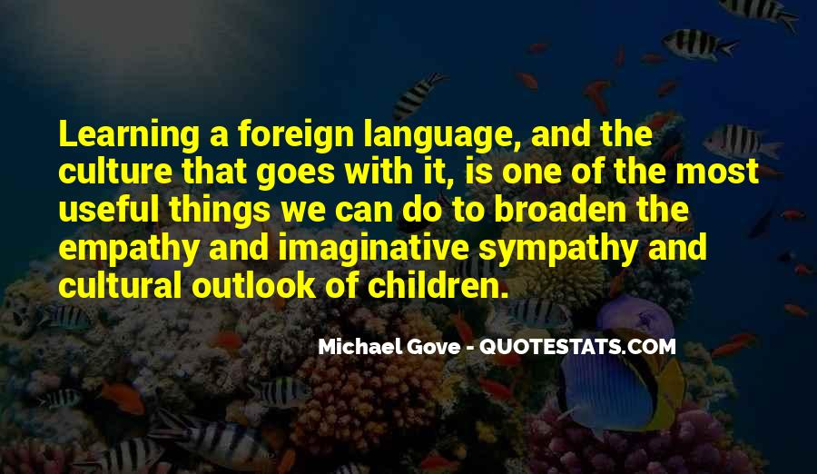 Quotes About Michael Gove #520838