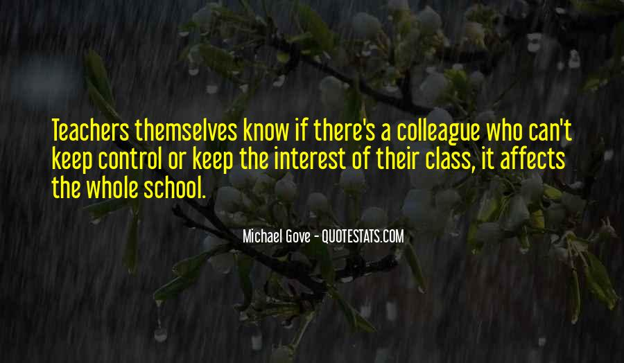 Quotes About Michael Gove #575632