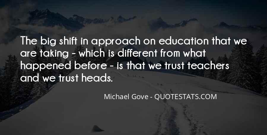Quotes About Michael Gove #615857
