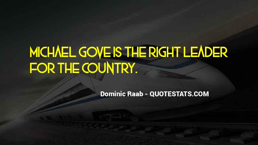 Quotes About Michael Gove #728374