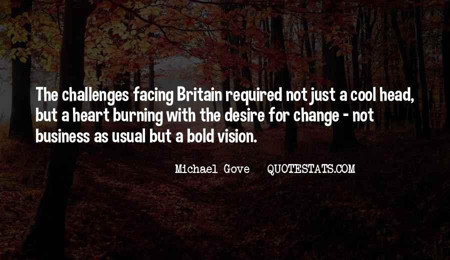 Quotes About Michael Gove #758523