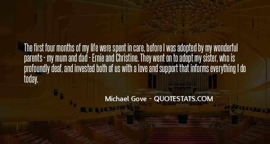 Quotes About Michael Gove #788181
