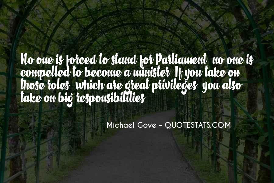 Quotes About Michael Gove #894187