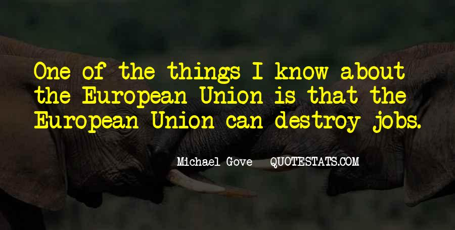 Quotes About Michael Gove #933836