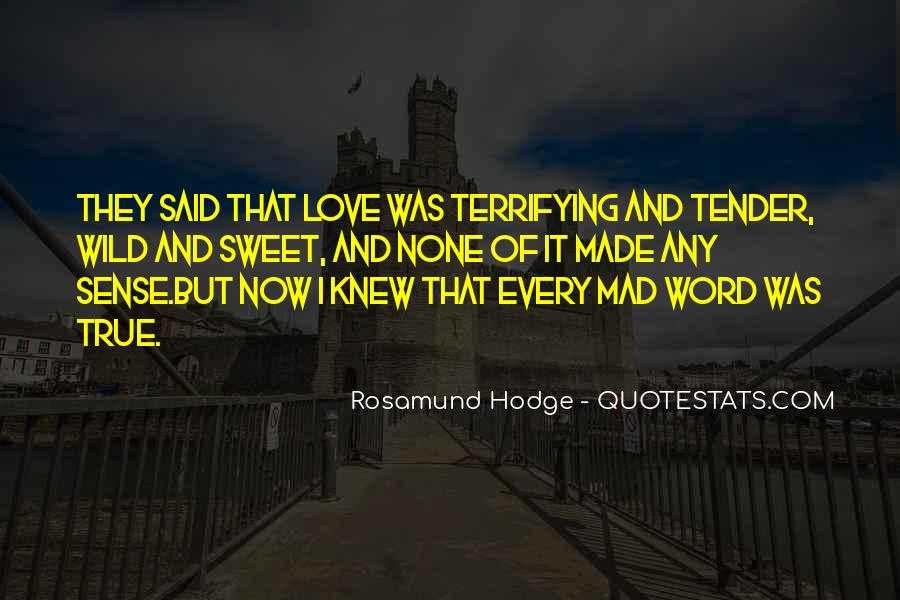 Sweet Love Words And Quotes #1380216