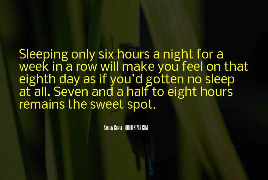 Sweet Sleeping Quotes #1115108