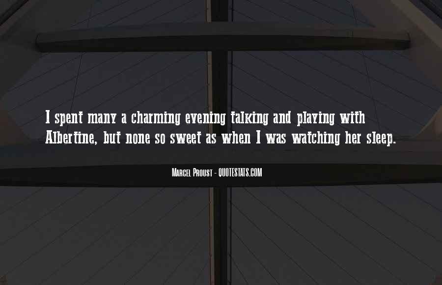 Sweet Sleeping Quotes #1506765