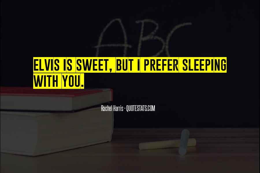 Sweet Sleeping Quotes #617464