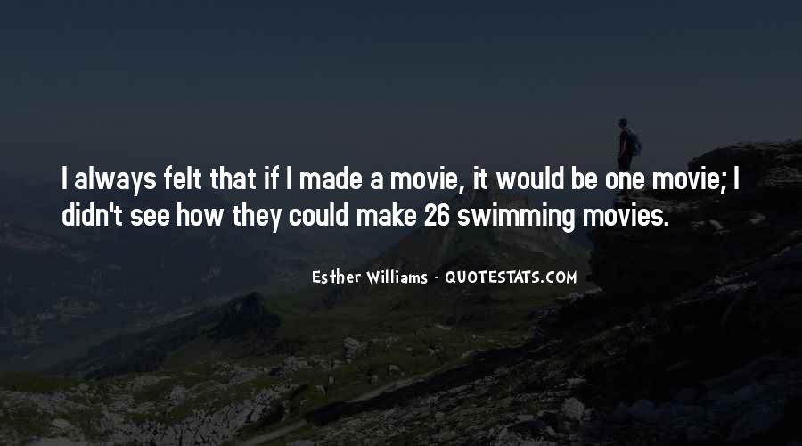 Swimming Movie Quotes #154328