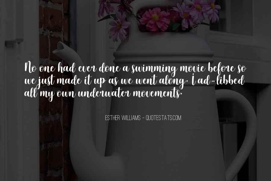 Swimming Movie Quotes #908758