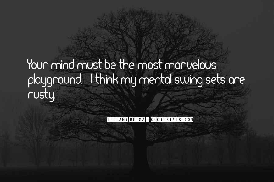 Swing Playground Quotes #457062