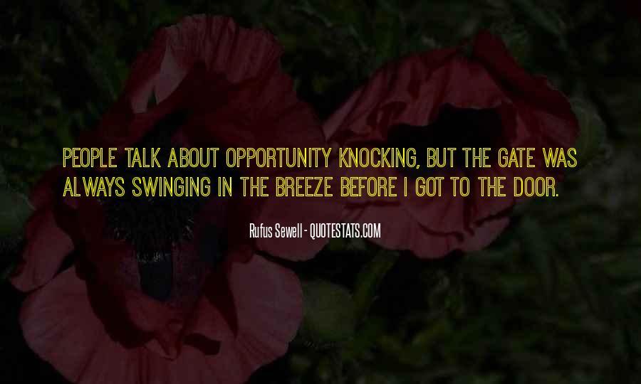 Swinging Door Quotes #1096153