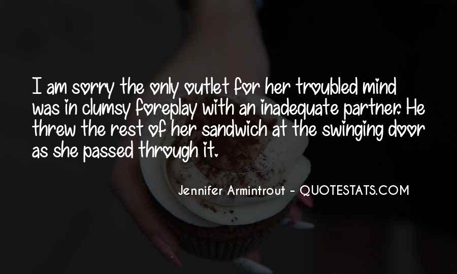 Swinging Door Quotes #1502764