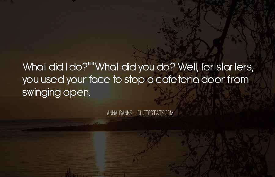 Swinging Door Quotes #1630972