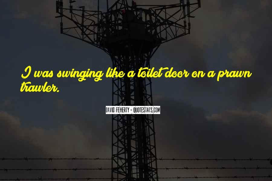 Swinging Door Quotes #189557