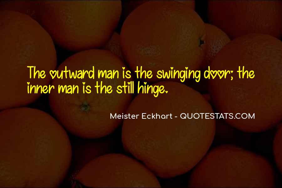 Swinging Door Quotes #222599
