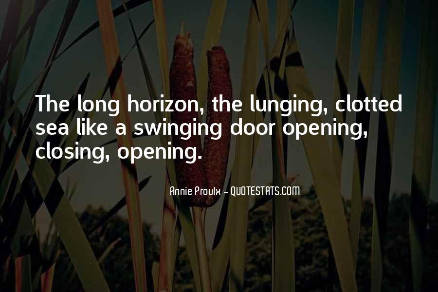 Swinging Door Quotes #404596