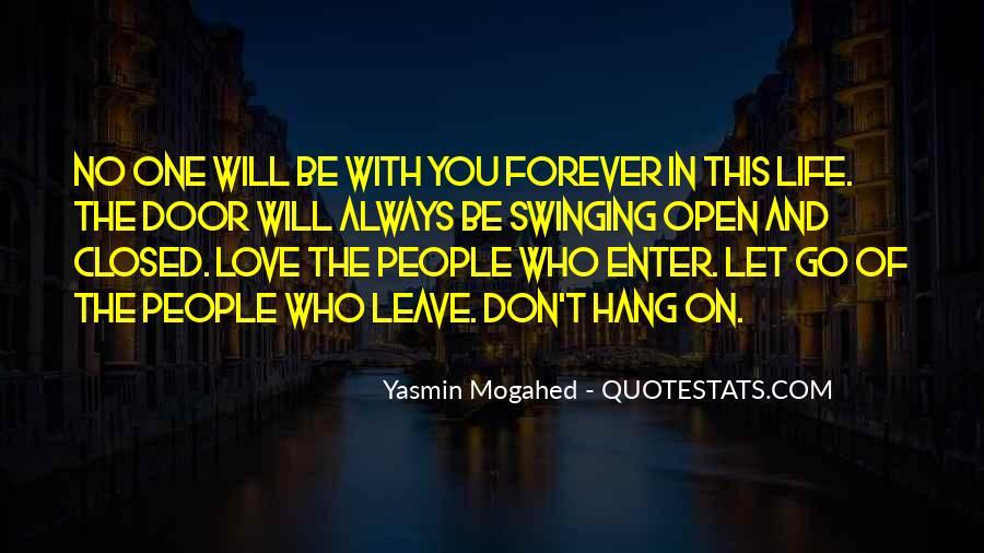 Swinging Door Quotes #53341