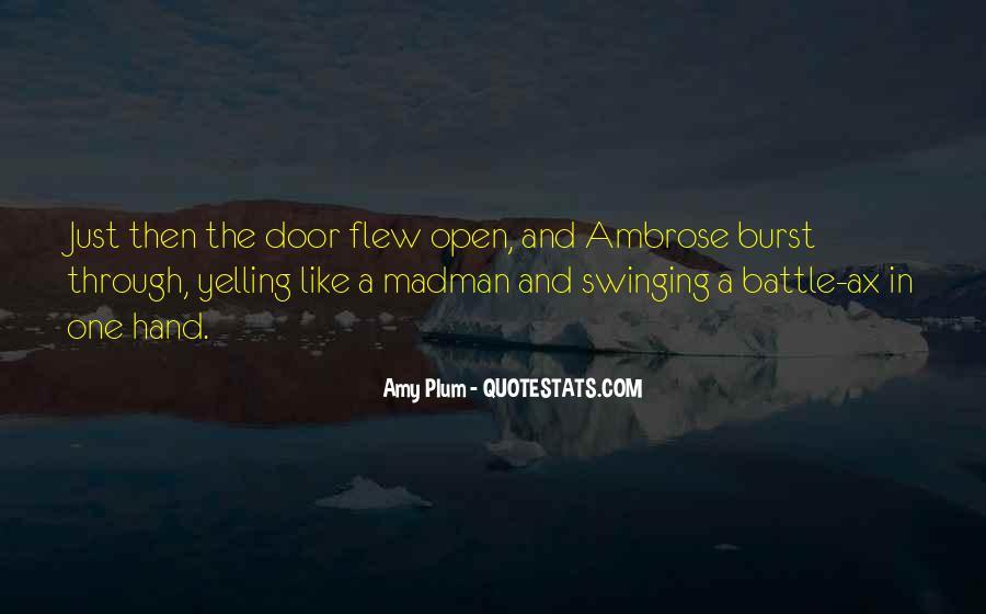 Swinging Door Quotes #637399