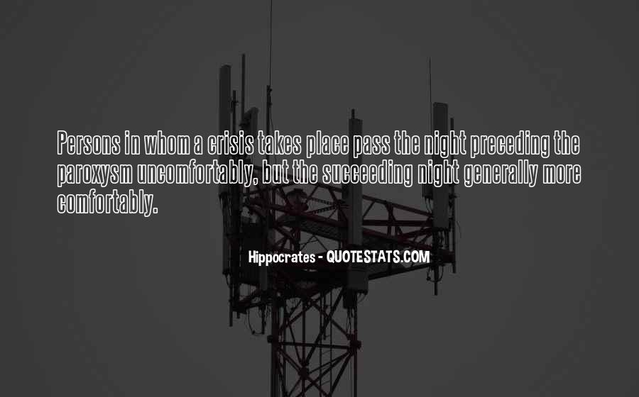 Quotes About Hippocrates #1017384