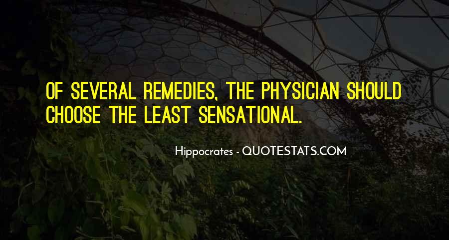 Quotes About Hippocrates #1065237
