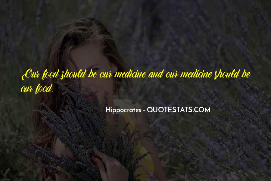 Quotes About Hippocrates #106811