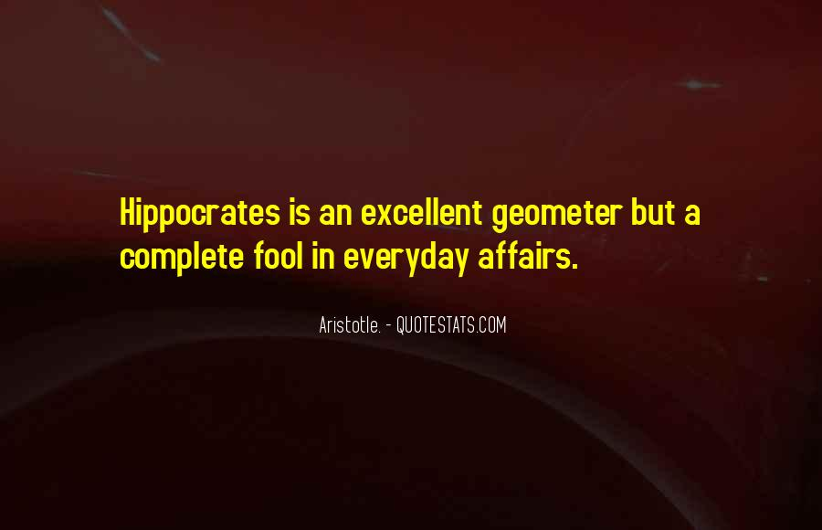 Quotes About Hippocrates #1077543