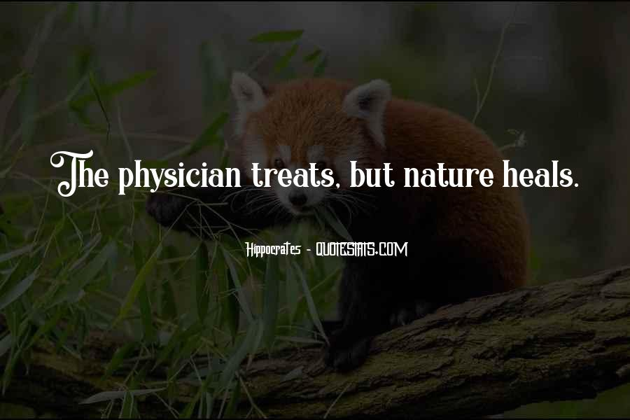 Quotes About Hippocrates #136716