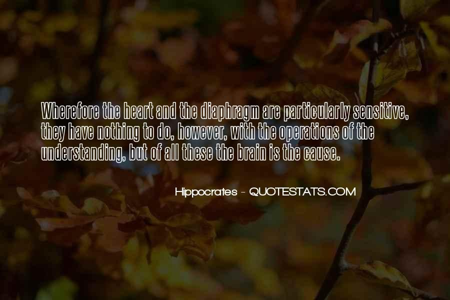 Quotes About Hippocrates #178662