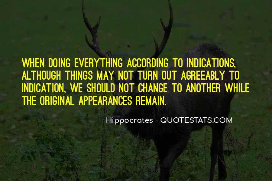 Quotes About Hippocrates #215855