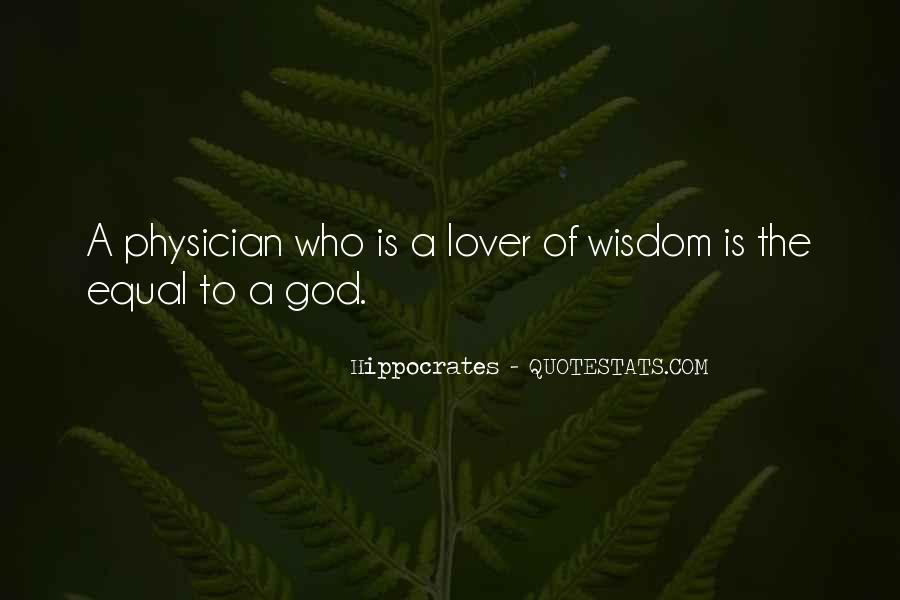 Quotes About Hippocrates #255684