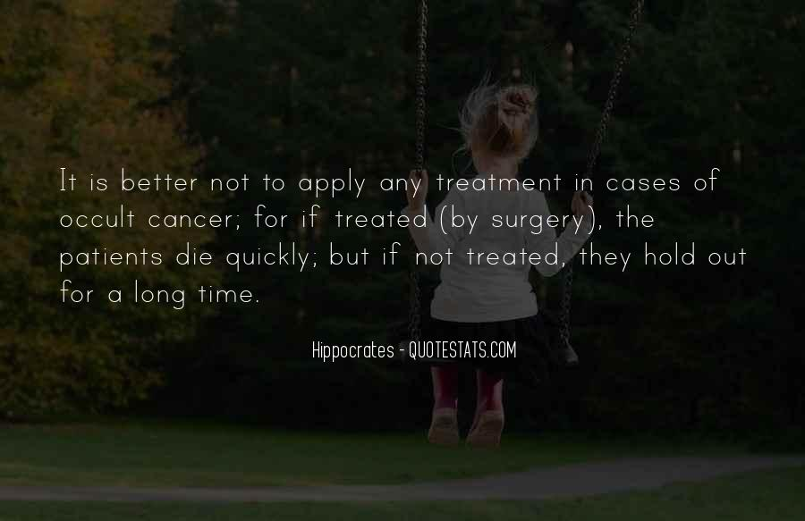 Quotes About Hippocrates #322880