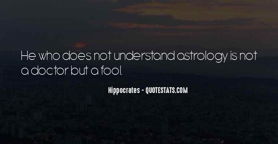 Quotes About Hippocrates #439612