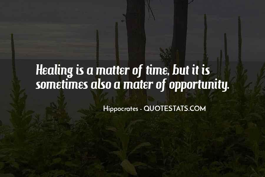 Quotes About Hippocrates #461976