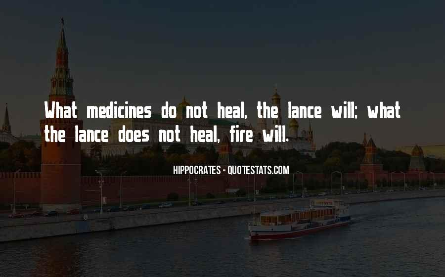 Quotes About Hippocrates #504554