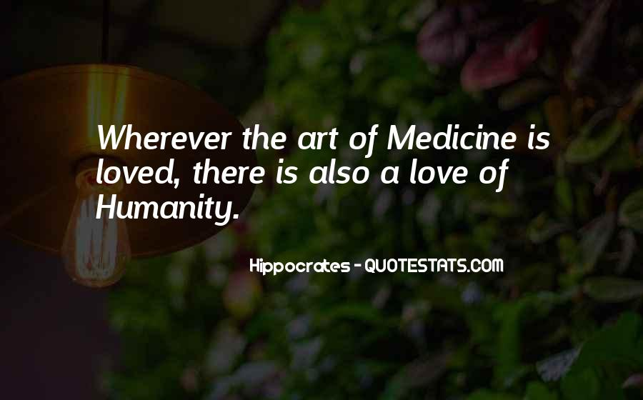 Quotes About Hippocrates #564724