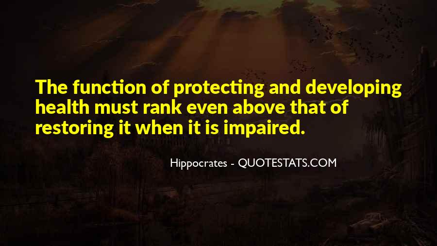 Quotes About Hippocrates #629359