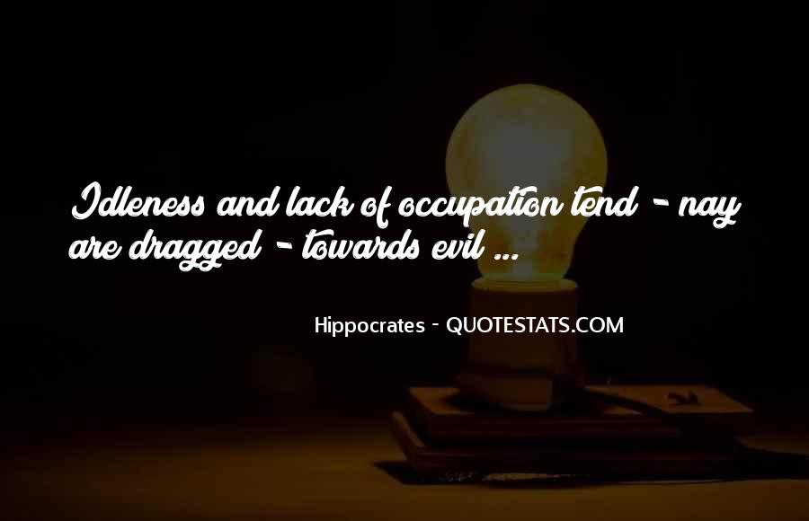 Quotes About Hippocrates #633082